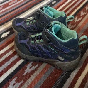 Merrill kids hiking boots 11w